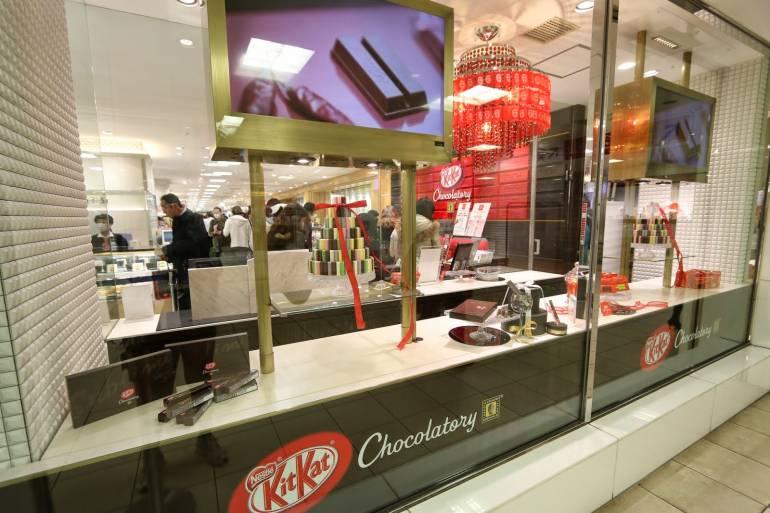 Kit Kat Chocolatier, Seibu Ikebukuro