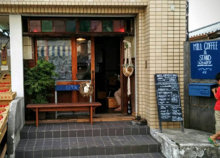 mill coffee and stand shop front