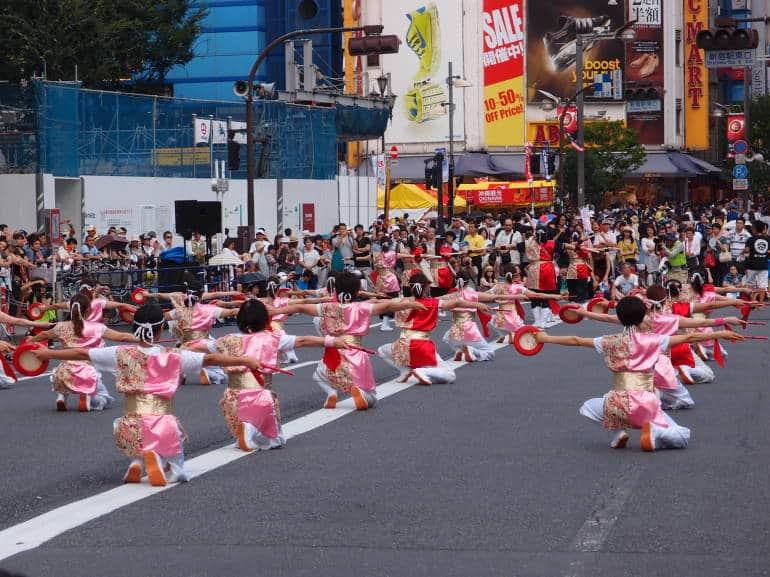 Eisa Matsuri in Shinjuku