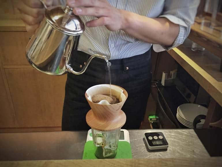 Café Kitsuné slow pour
