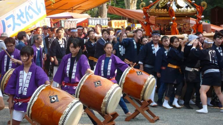 Nezu Shrine Festival