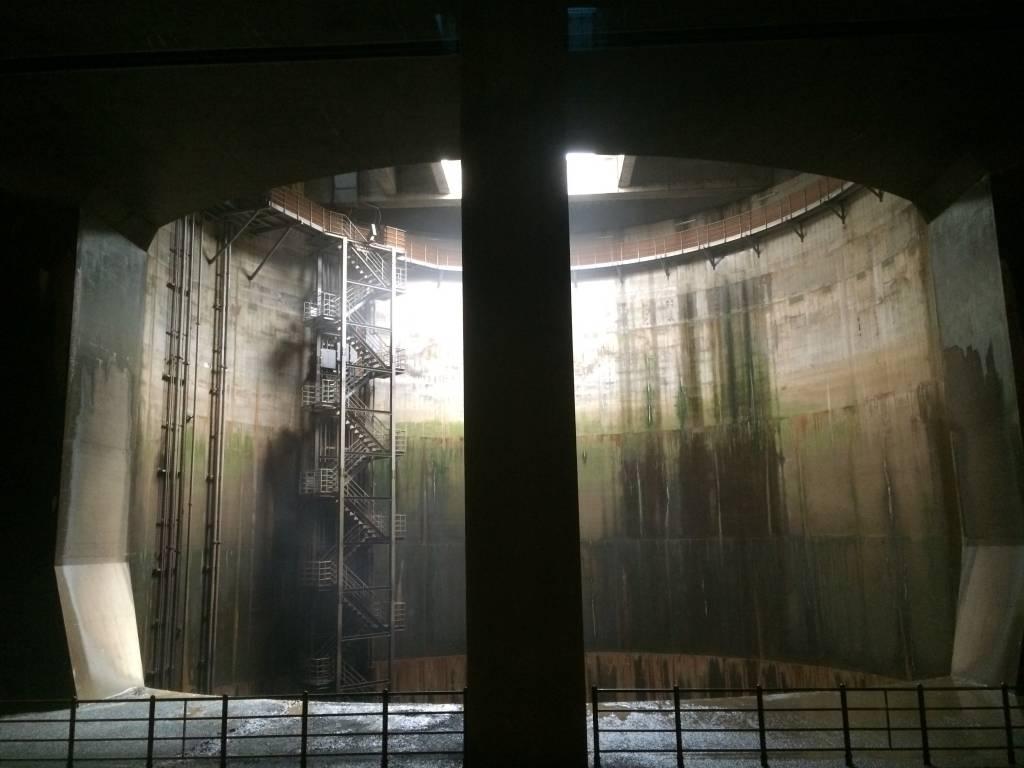 Saitama Discharge tank
