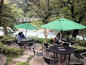 Saanoi riverside garden