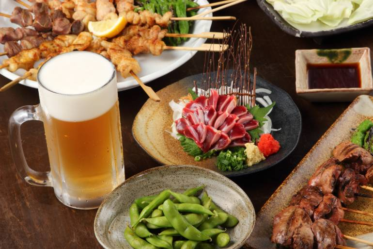 Japanese pub food