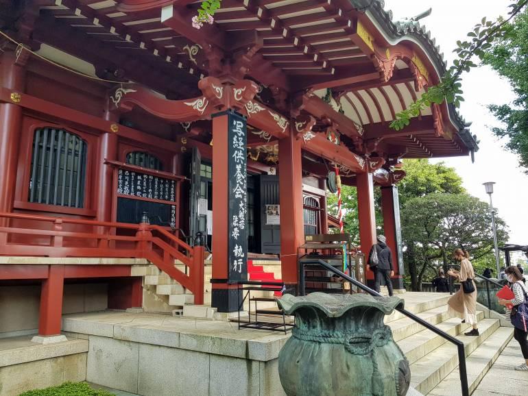 Matsuchiyama Shoden main hall