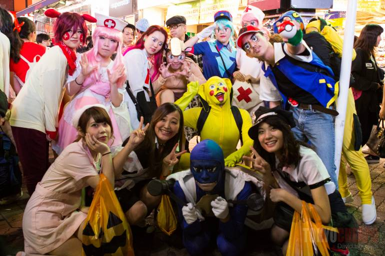 Tokyo events october Halloween