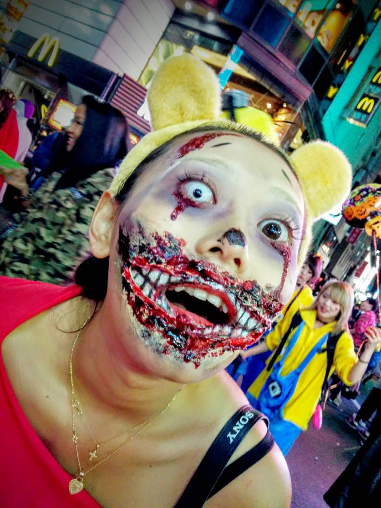 shibuya halloween zombie tigger