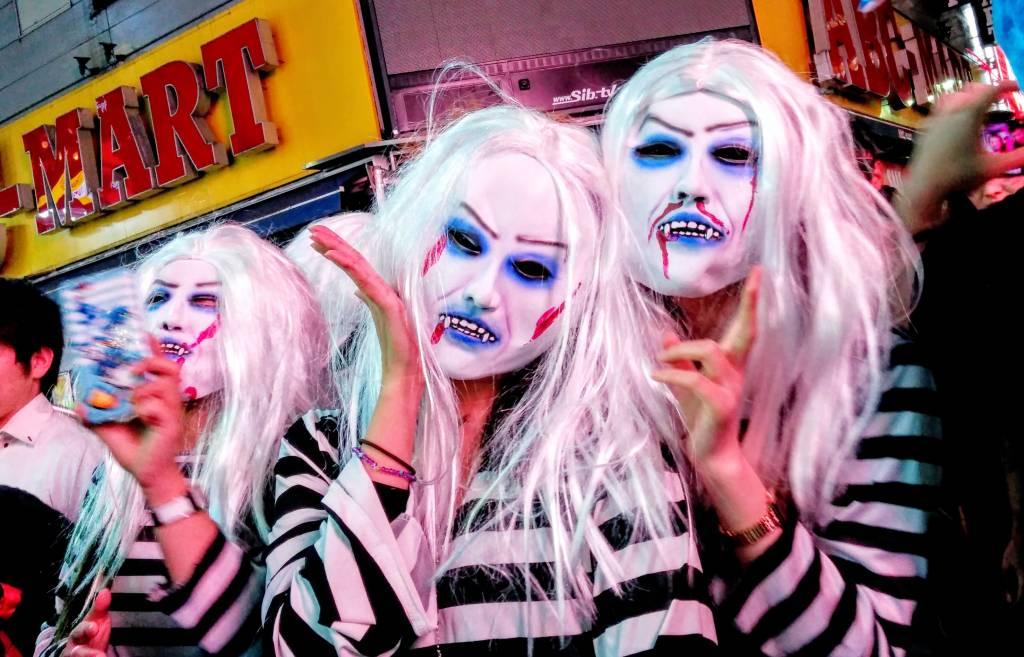 Freaky Shibuya Halloween