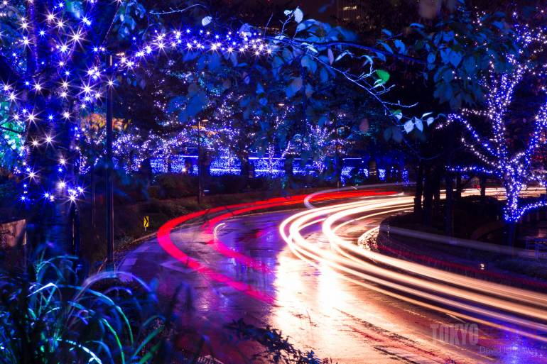 winter illuminations tokyo - best time to visit tokyo
