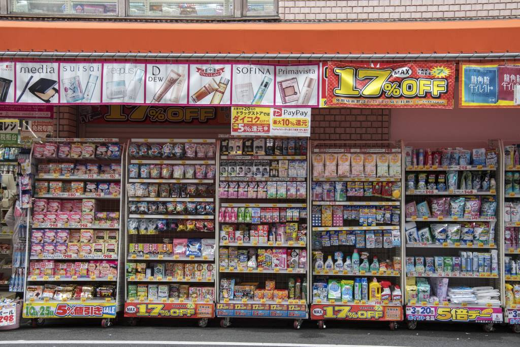 drug store japan