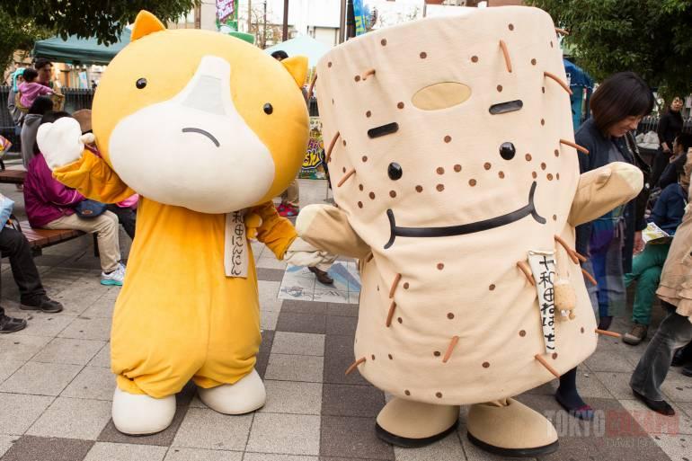 Yuru Chara Matsuri - mascot festival