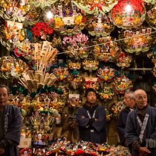 Asakusa Tori-no-ichi Fair I
