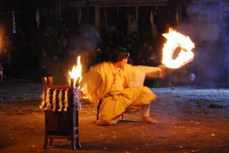 Akibasan Fire Festival