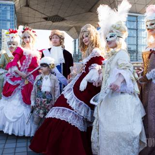 The Cosplayers of Winter Comiket 2015