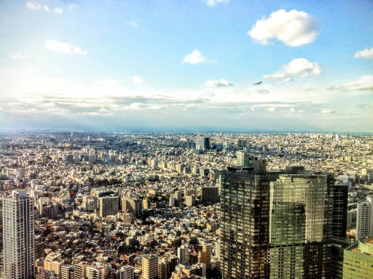 free tokyo viewpoints