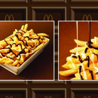 McChoco Potato: Chocolate-Covered Fries Coming to McDonald's Japan