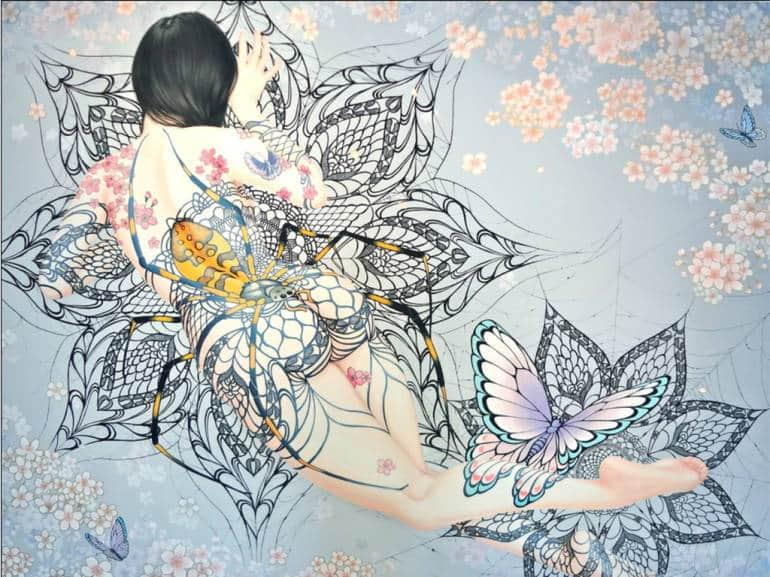"""By Rika Shimasaki: """"Mousouzoku: A Woman"""""""
