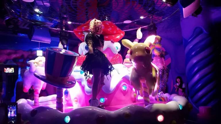 Kawaii monster cafe show harajuku