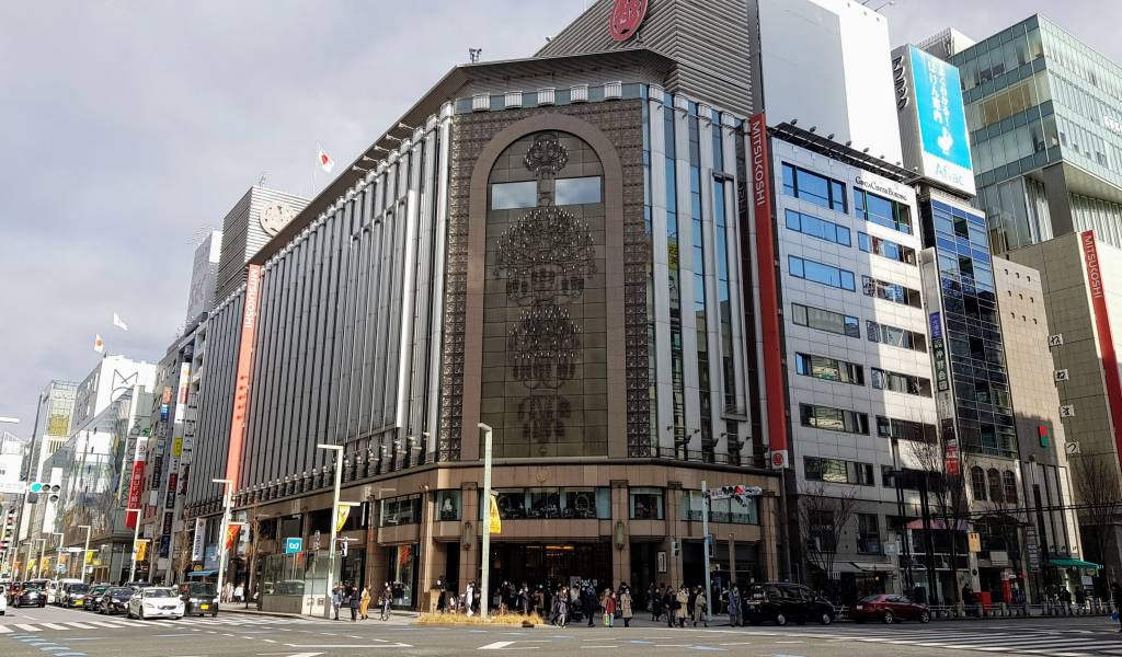 mitsukoshi department store ginza gdl