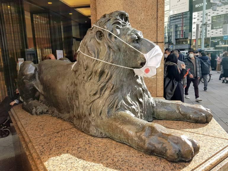 Mitsukoshi lion