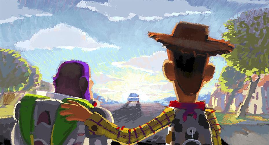 toy story -pixar