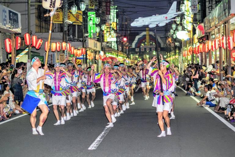 awa odori parade - when to visit tokyo