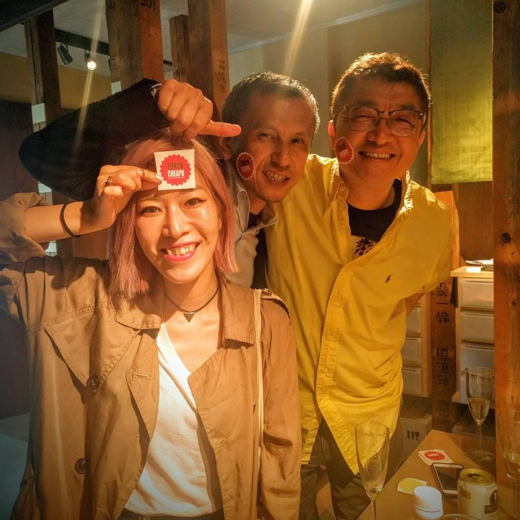 Shingo, Kenichi and Kaori
