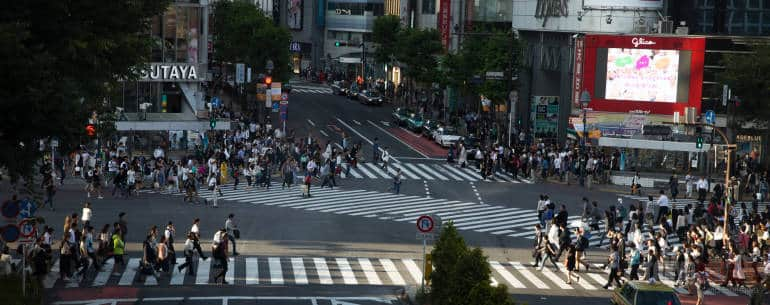 how to photograph shibuya crossing