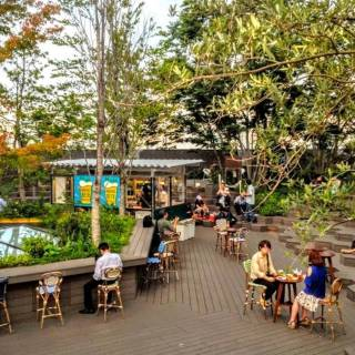 Omohara Beer Forest - A Refreshing Summer Terrace with Craft Beer