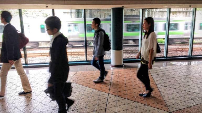 tokyo subway walking times