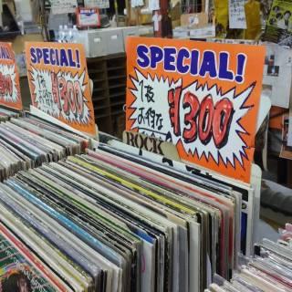 Used Record Shopping in Shimokitazawa