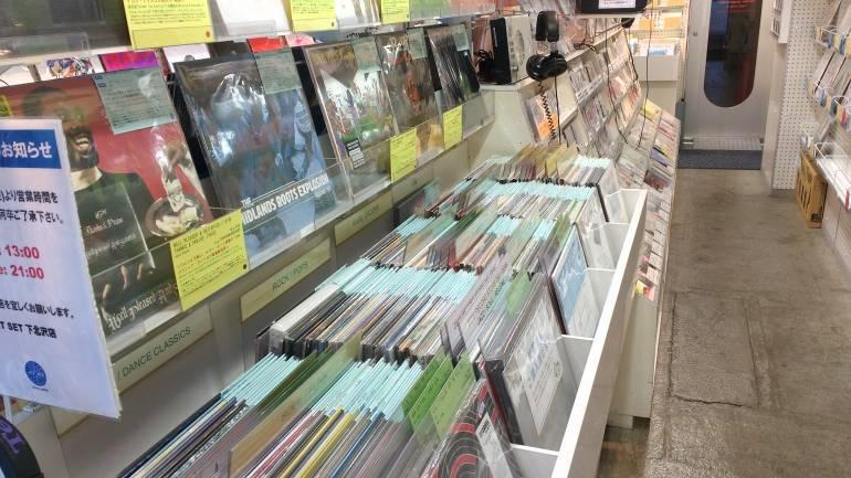 jetset-used record shops shimokitazawa tokyo