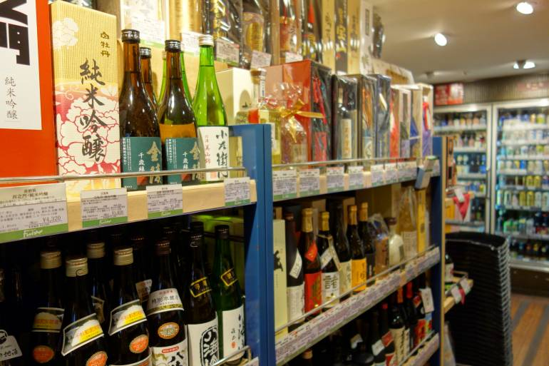 Tokyo alcohol