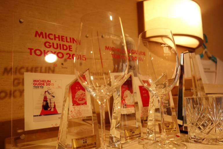 Michelin tsuta - michelin ramen