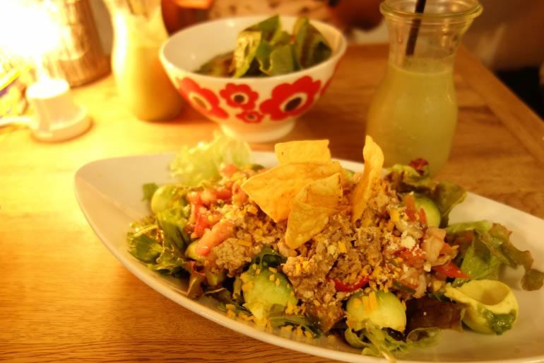 Madosh Taco rice - tokyo avocado cafe