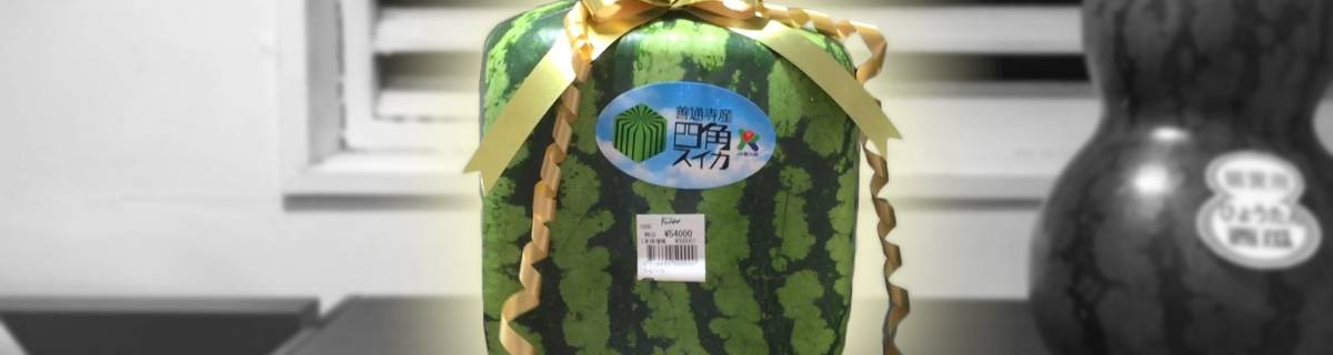 Square Watermelons: Summer in Tokyo with an Edge (w/ Video)