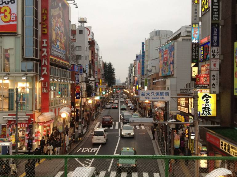 Tokyo koreatown shin-okubo
