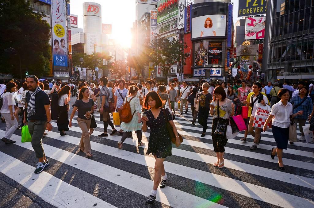 narita to shibuya crossing