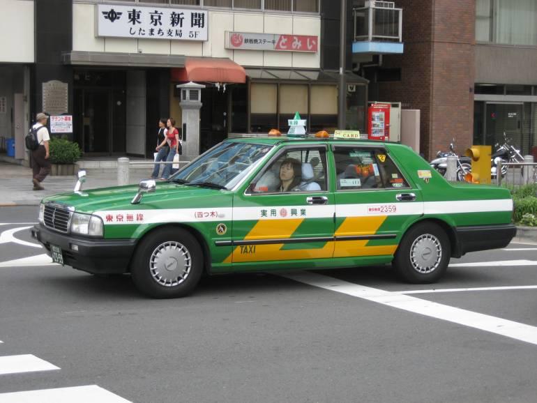 taxi to Tokyo Disney