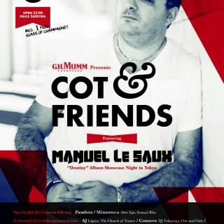 G.H. Mumm presents COT & Friends feat. Manuel Le Saux