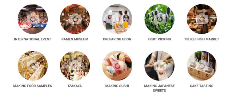 Taste of Japan Activities