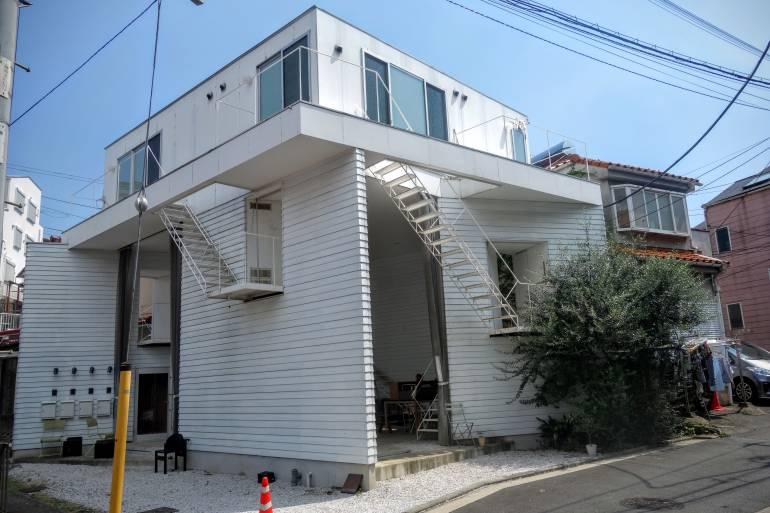Yokohama art house exterior