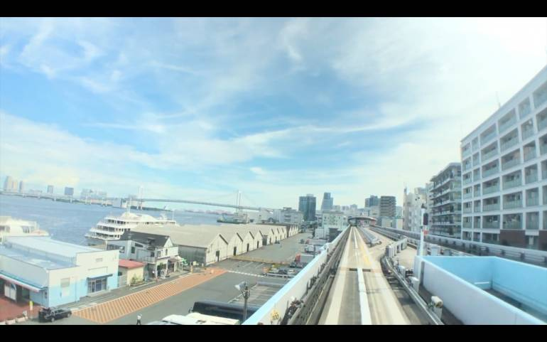 yurikamome-train-view