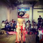 An evening at Dr Sketchy's