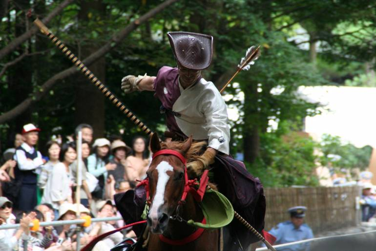 Horseback archery is an ancient tradition.