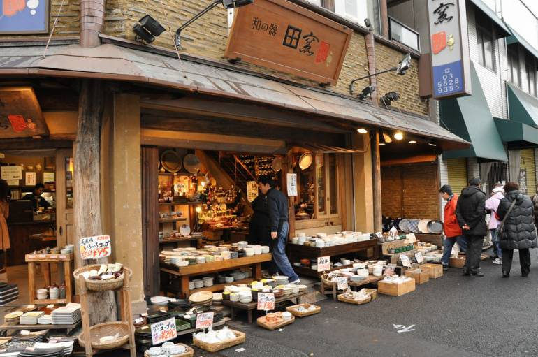 kappabashi tokyo kitchen town