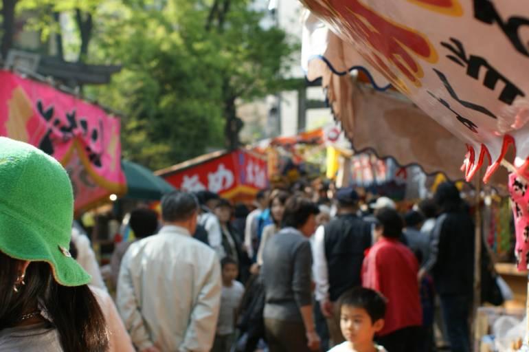 Festival at Nezu Shrine