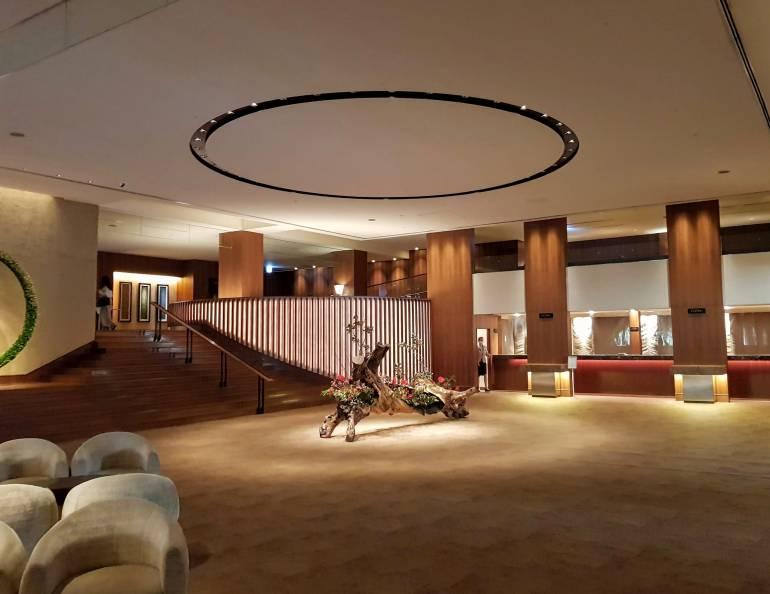 Happoen Main Building lobby