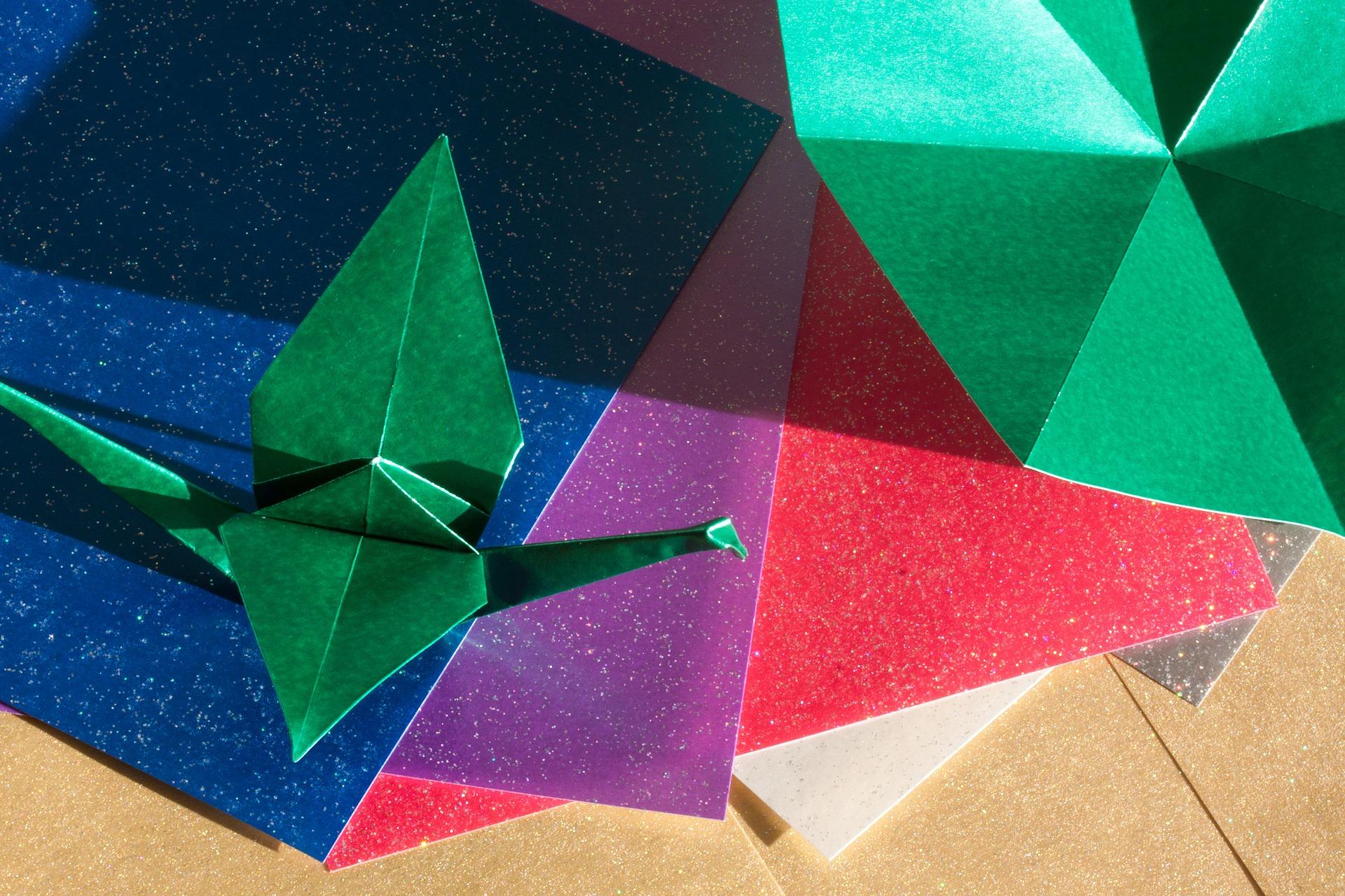 Origami Brief - Briefumschlag basteln als z.B. Muttertagsgeschenk ... | 1280x1920