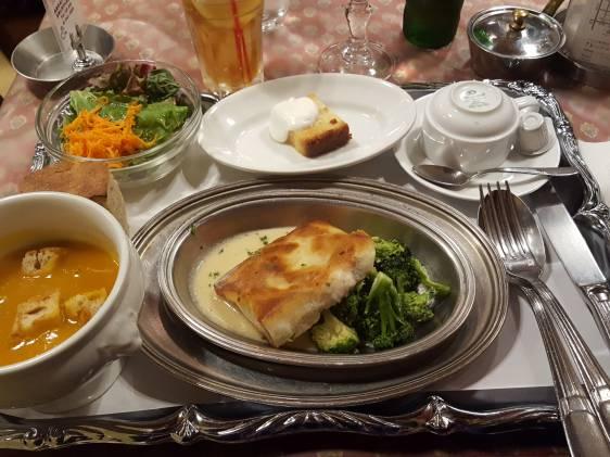Concombre restaurant, Shibuya, French
